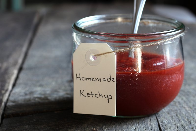 Homemade Fancy Ketchup