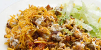 Hhalal Chicken with Rice